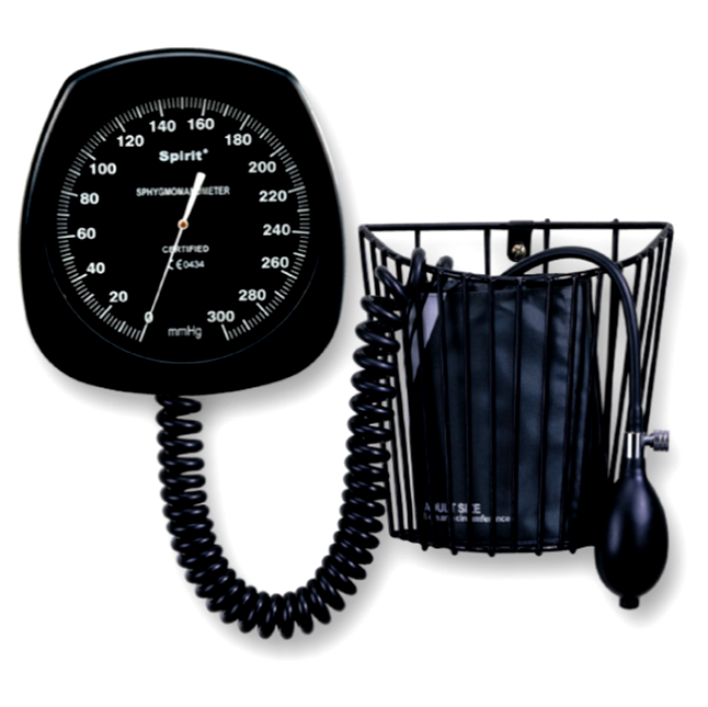 Large Round Face Aneroid Sphygmomanometer (CK-131A)