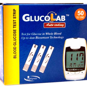 GlucoLab (50 Test Strips)