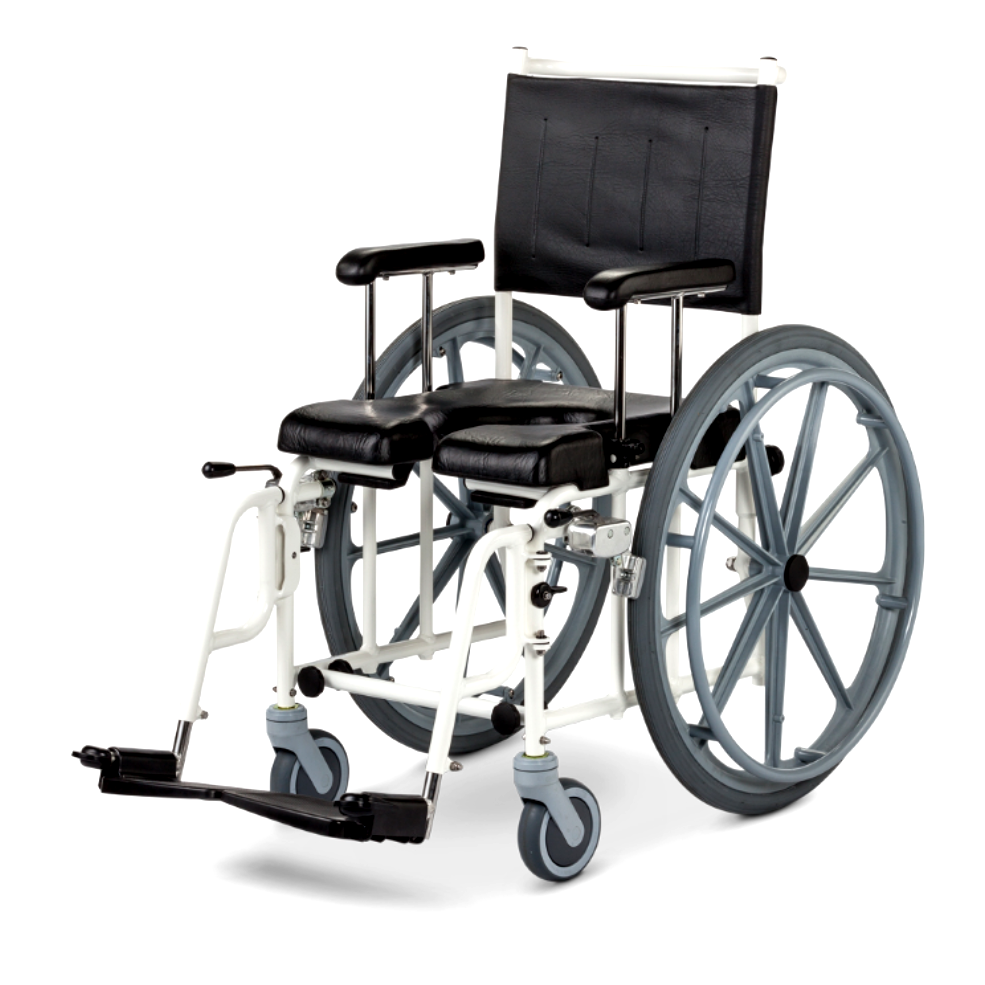 MOBILE COMMODE/SHOWER CHAIR (10592)