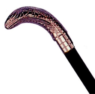 (BRASS Cane) Solid Wooden Cane (TA-M720)