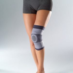 Compression Knee Support with Silicone Ring (HKN0100)
