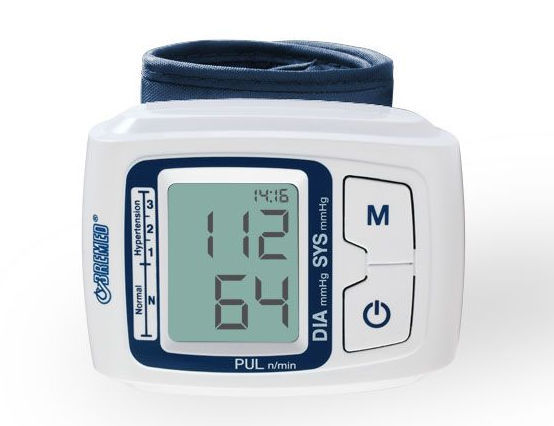 Full Automatic Wrist Type Blood Pressure Monitor (BD555)