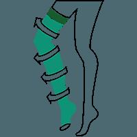 Sheer Line | الجوارب الطبية شبه الشفافة